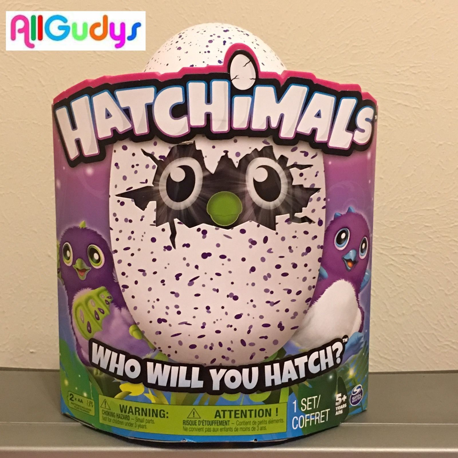 NEW Hatchimals DRAGGLES Purple Egg ** NEXT DAY DELIVERY **