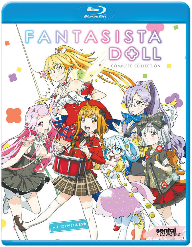 Fantasista Doll Complete Collection Blu-Ray Disc New Anime Series