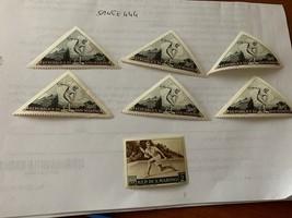 San Marino 7 stamps 1953 mnh stamps - $1.20