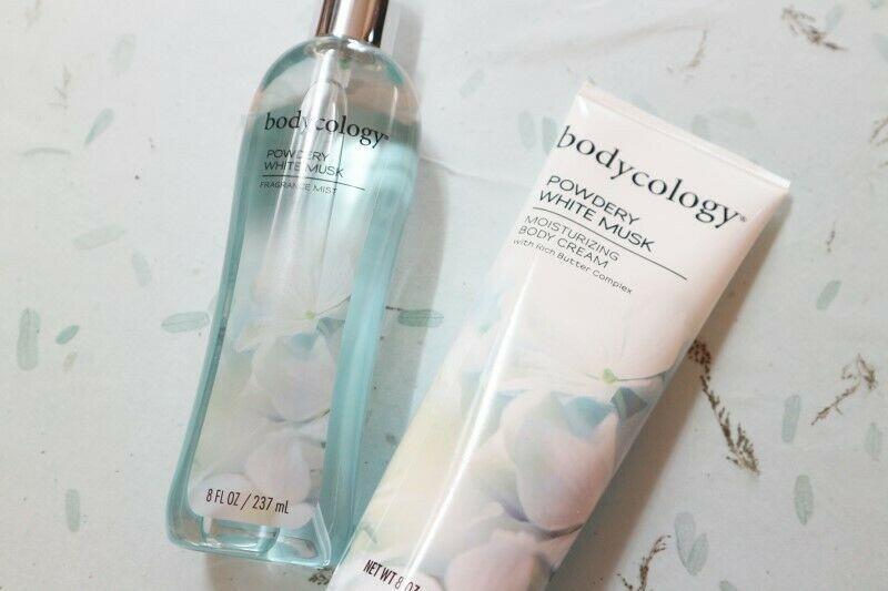 Bodycology Powdery White Musk Moisturizing Body Cream 8 oz