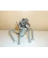 Monkey Metal Sculpture Figurine - $24.99