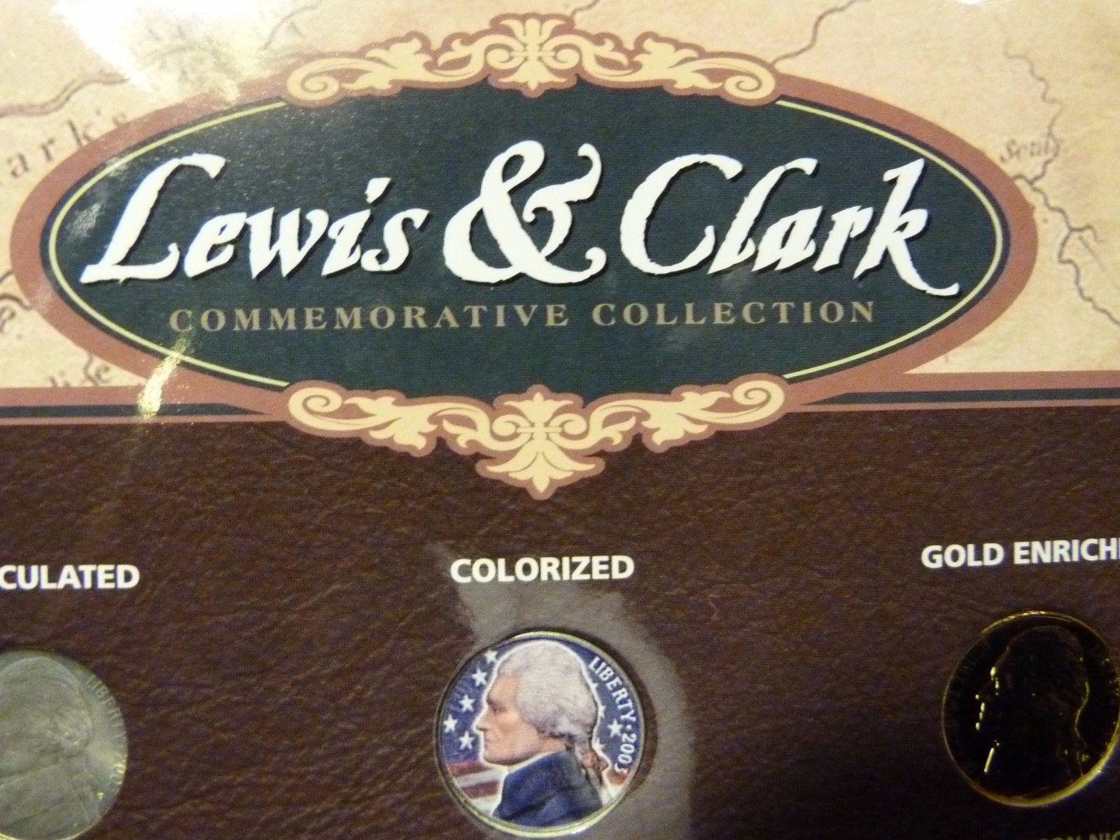 Lewis & Clark 18 Piece Nickel Set by U.S. Commemorative Gallery