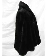 Ladies David Furs Black Shoulder Wrap SO Soft Rabbit Fur - $195.00