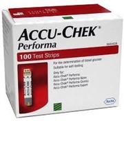 Accu-Chek Performa 100 Test Strips for Glucometer Free Ship - $22.00