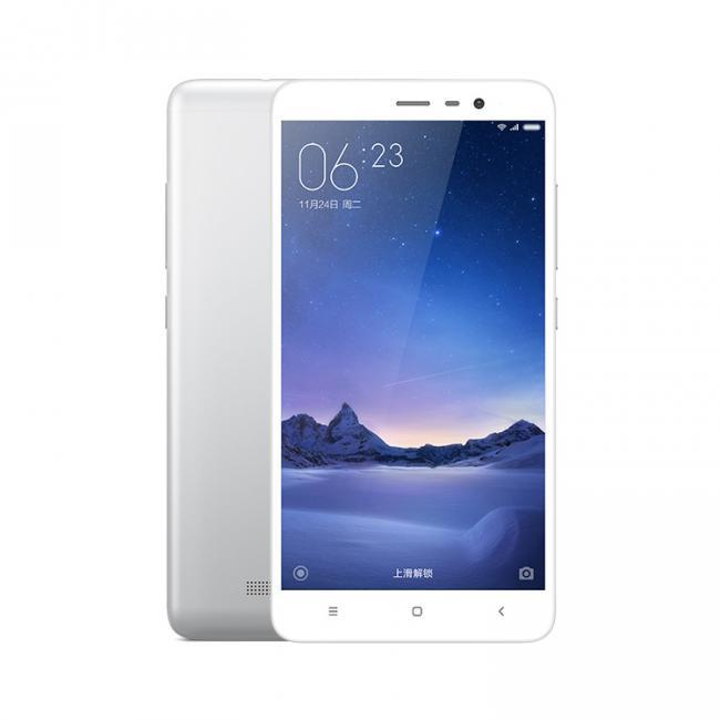 "xiaomi redmi note 3 pro 3gb 32gb silver 5.5"" screen android 5.1 4g smartphone"