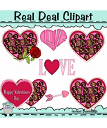 Valentine Heart Box Candy Exclusive Clipart - $1.25