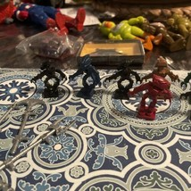 Lego Bionicle  Lot of 7 Minifigures With 7 Swords - $17.92