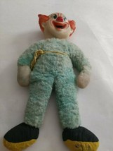"Vintage 1961 Bozo the Clown 1960's Capitol Records Stuffed Clown Plush Doll 14"" - $25.21"