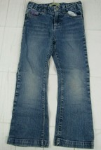 Paris Blues Girls Bootcut Blue Jeans Size 6  W1532 - $6.99