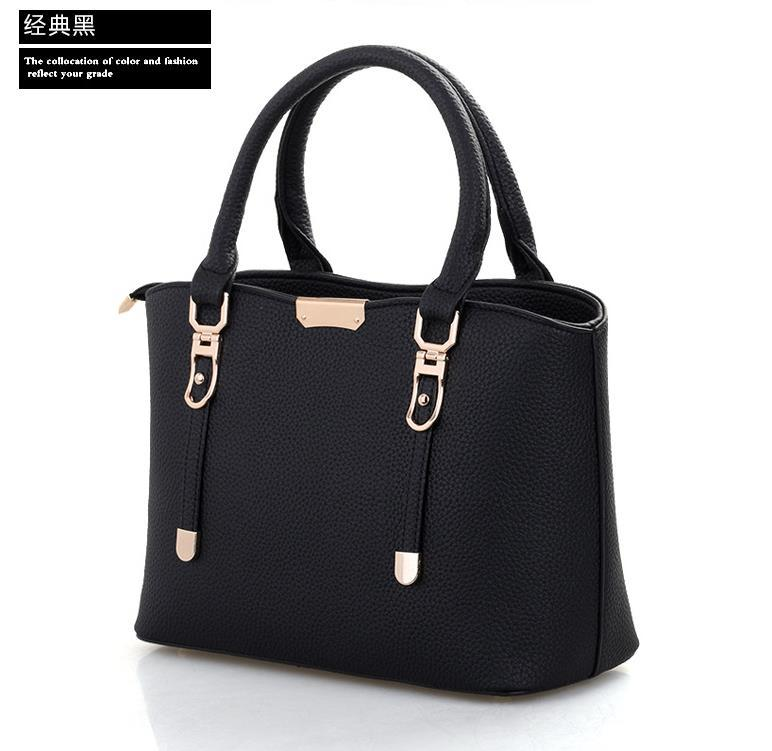 New Style Women Leather Handbags Shoulder Bags Large Messenger Bags P302-1