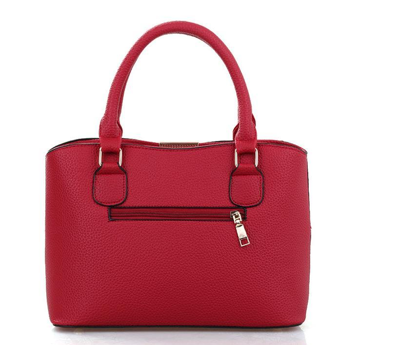 New Style Women Leather Handbags Shoulder Bags Large Messenger Bags P302-1