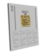 COCO CHANEL PERFUME IMAGE 2016 Calendar 16x12 FRAMED CANVAS Print - $29.95