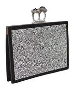 New Alexander McQueen 554151 $2,990 2 Jewel Ring Crystal Embellished Clu... - $886.05