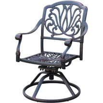 Patio dining set Elisabeth 11pc outdoor furniture Cast Aluminum chairs and table image 3