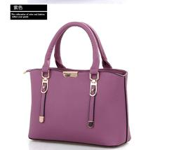 Mixed Color Women Leather Shoulder Bags Handbags Large Tote Bags  P302-4 - $39.99
