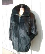 REDUCED Womans SOFT Sheared Fur Coat Size Medium/ Large - $575.00