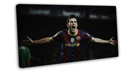 David Villa Soccer Football Large 16x12 FRAMED CANVAS Print - $29.95