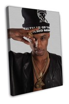 Speaker Knockerz Rapper Music Hip-Hop 16x12 FRAMED CANVAS Print - $22.46