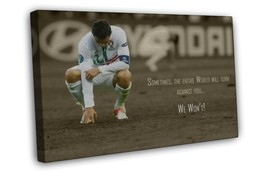 Cristiano Ronaldo Soccer Star Sport Motivationa... - $29.95