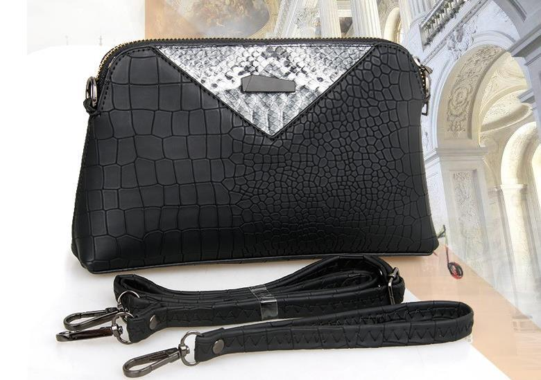 Fashion Women Leather Shoulder Bags Messenger Bags Free Shipping Clutch Bag304-5
