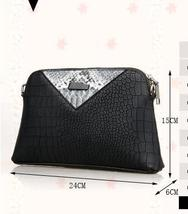 Fashion Women Leather Shoulder Bags Messenger Bags Free Shipping Clutch Bag304-5 image 3
