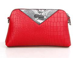 Fashion Women Leather Shoulder Bags Messenger Bags Free Shipping Clutch Bag304-5 image 9