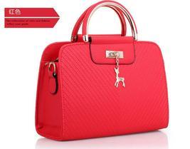 Seven Color Women Handbags Medium Leather Shoulder Bags Tote Bags H306-1 - $39.99