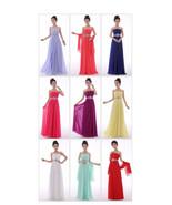 Sexy A-line Crystal Chiffon Formal Elegant Long Evening Dresses - $129.99