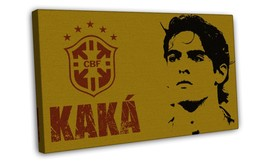 KaKa Football Star Art 16x12 FRAMED CANVAS Print Decor - $29.95