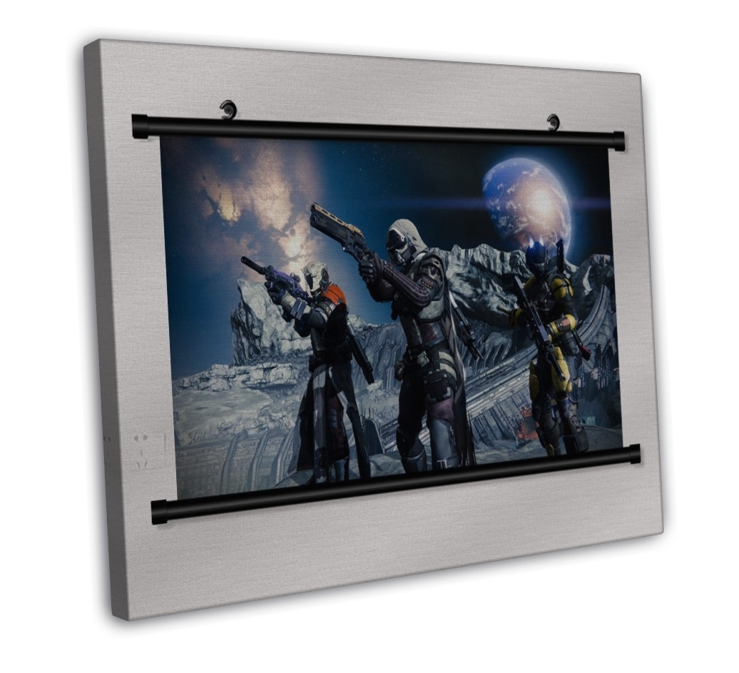 Destiny Game Wall Decor 16x12 FRAMED CANVAS Print Posters