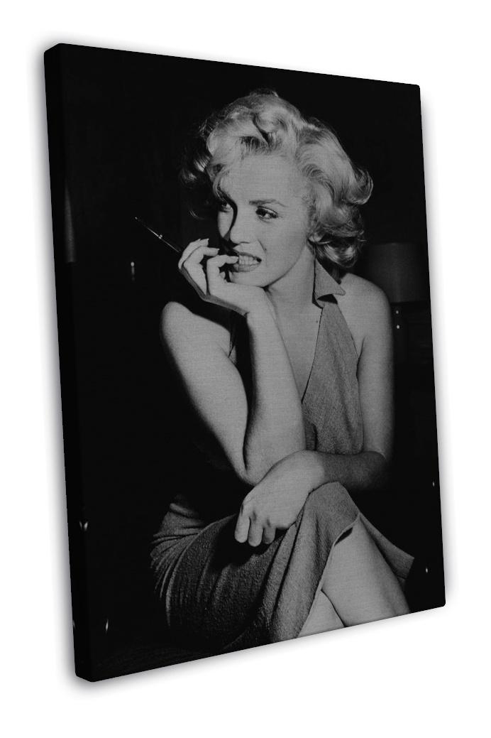 Marilyn monroe tattoo graffiti art 16x12 framed canvas for Marilyn monroe tattoo canvas