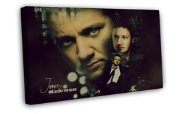Jeremy Renner Actor Star Art 16x12 FRAMED CANVAS Print Decor - $22.46