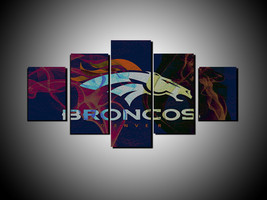 5 Pcs HD Printed Denver Broncos Sports Team Log... - $47.99 - $199.99