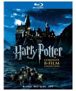 Harry Potter Complete 8-Film Collection (8-Disc Set Blu-ray 2011) Brand ... - $45.50