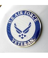 United States Air Force Wings USAF Veteran Large Lapel Pin Badge 1.5 inches - $5.41