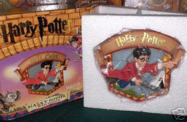 Harry Potter 3-D Wall Plaque Enesco Warner Bros Mint In Box - $14.98