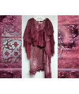 Damsel in New York City Silk Dress s m l xl 1x ... - $495.00