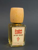 Vintage English Leather After Shave 2 oz Glass ... - $24.70