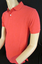 New J. Crew Men Cotton Light Red Polo Shirt Classic Basic T-Shirt Size S... - $32.33