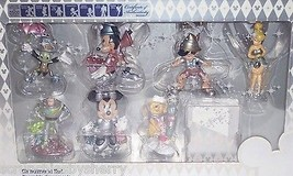 Disney Store 25th Anniversary Ornaments Tink Pinocchio Buzz Pooh Minnie ... - $359.95