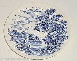 Enoch Wedgwood Countryside Dessert Plate Blue China England Tunstall Lot... - $44.95