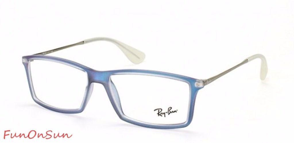 b35e96c529d51 Ray Ban Eyeglasses RB7021 5496 Matthew Blue and 50 similar items. S l1600
