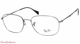 Ray Ban Eyeglasses RB6273 2759 Gunmetal Round Frame 51mm Authentic Made in Italy - $77.59