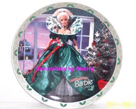 Barbie Happy Holidays Collector Plate 1995 Enesco Vintage  - $29.95