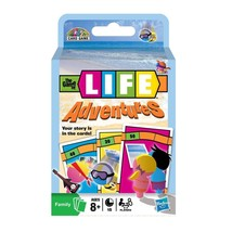 The Game of Life Adventures Card Game By: Hasbro for 2 - 4 Players NEW - $9.89