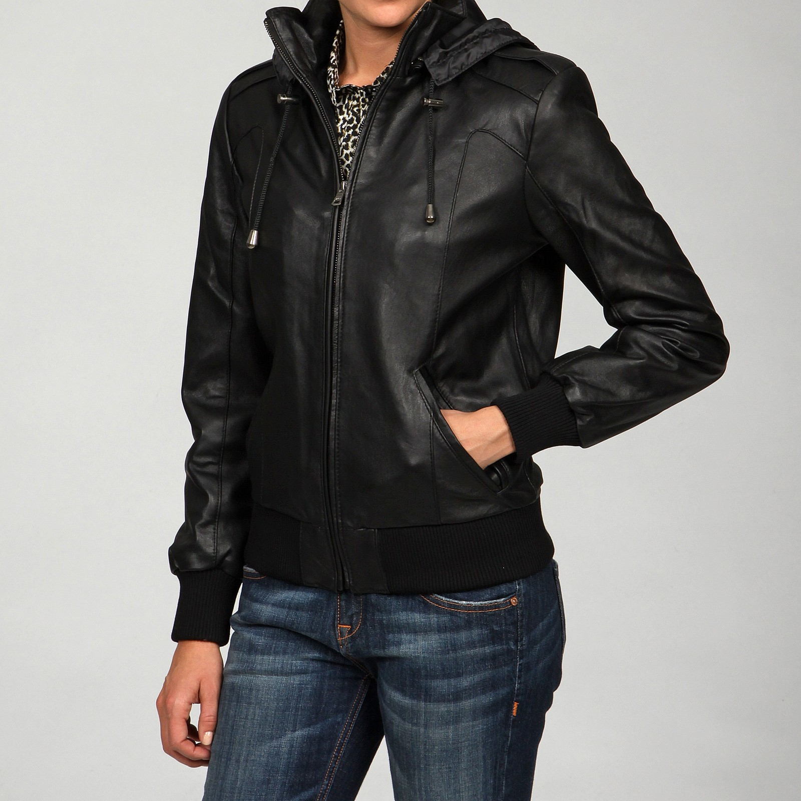 Find womens hooded leather jacket at ShopStyle. Shop the latest collection of womens hooded leather jacket from the most popular stores - all in one.