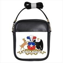 Chile Coat of Arms Leather Sling Bag (Crossbody Shoulder) - Tabard Surcoat - $14.35
