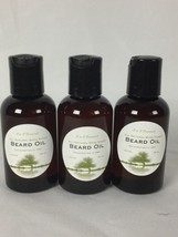 Unscented Organic Beard Oil & Leave-In Conditioner 2 oz 100% Pure & Natural - $7.97