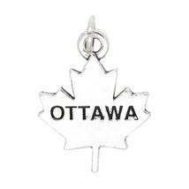 Sterling Silver Ottawa Canada Charm - $13.45