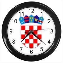 Croatia Coat of Arms Wall Clock - Tabard Surcoat - $17.94